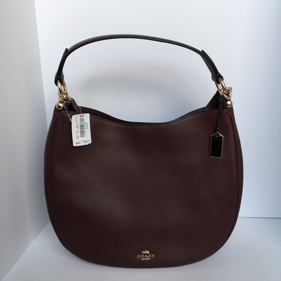 70fb501451a Coach Bags   Nomad Hobo Bag In Oxblood Large Nwt   Poshmark